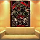 Gremlins Movie 1984 Gizmo Cool Art Artwork Huge Giant Print Poster