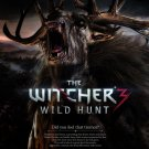 The Witcher 3 Wild Hunt Monster Deer Game Art 32x24 Print Poster