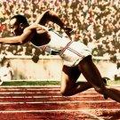 Jesse Owens Legend Ser Athlete Sport 16x12 Print Poster
