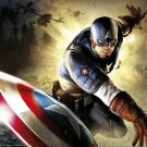 Captain America Video Game Superhero Soldier 16x12 Print Poster