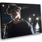 Rocky Movie Boxer Sylvester Stallone 30x20 Framed Canvas Art Print