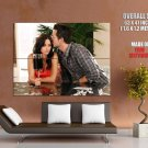 Cougar Town Courteney Cox Josh Hopkins TV Series GIANT Huge Print Poster