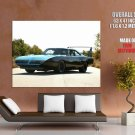 Plymouth Road Runner Superbird Muscle Car Giant Huge Wall Print Poster