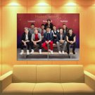 One Direction Wax Figures Pop Boy Band Rare Huge Giant Print Poster