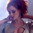 Christina Hendricks Hot Sexy Cleavage Redhead Light 32x24 Wall Print POSTER