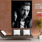 Justin Timberlake Portrait Pop Music Singer BW Rare Giant Huge Print Poster
