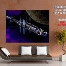 Spacecraft Babylon 5 Giant Huge Wall Print Poster