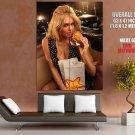 Kate Upton Sweet Blonde Hamburger Giant Huge Print Poster