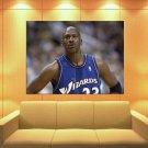 Michael Jordan Washington Wizards Jersey Huge Giant Print Poster