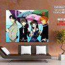 Fruits Basket Umbrella Anime Manga Art GIANT Huge Print Poster