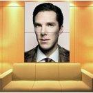 Benedict Cumberbatch Portrait Actor Huge Giant Print Poster