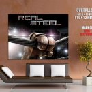 Real Steel Movie Robot Boxer Giant Huge Wall Print Poster
