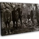 Radiohead Old Photograph Music Alternative 50x40 Framed Canvas Print