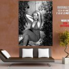 Marilyn Monroe Actress Hot Vintage BW GIANT Huge Print Poster