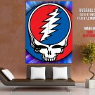 Grateful Dead Logo Rock Band Art GIANT Huge Print Poster