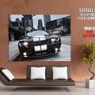 Dodge Challenger Stripes Cityscape Giant Huge Wall Print Poster