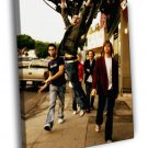 Maroon 5 Ryan Dusick Adam Levine Mickey Madden 50x40 Framed Canvas Print