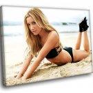 Ashley Tisdale Actress Hot Blonde Sexy Bikini 50x40 Framed Canvas Art Print
