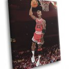 Michael Jordan Cool Art Chicago Bulls Basketball 40x30 Framed Canvas Print