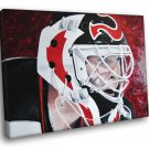 Martin Brodeur New Jersey Devils Goaltender Painting 40x30 Framed Canvas Print