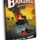 Banshee Art Painting Awesome Tv Series 40x30 Framed Canvas Print