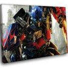 Autobot Optimus Prime 40x30 Framed Canvas Art Print