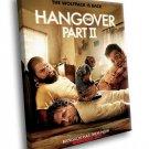 The Hangover Movie 40x30 Framed Canvas Art Print