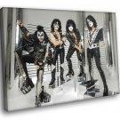 Kiss Adult Cool Hard Rock Band Music 40x30 Framed Canvas Art Print