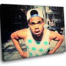 Chance The Rapper Hip Hop Music 40x30 Framed Canvas Art Print
