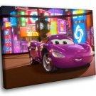 Cars Movie Disney Holley Shiftwell 40x30 Framed Canvas Art Print