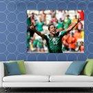 Giovani Dos Santos Goal Mexico 2014 World Cup Football HUGE 48x36 Print POSTER