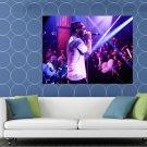 Juicy J Live Concert Rapper Hip Hop Music Rap HUGE 48x36 Print POSTER