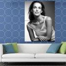 Elizabeth Henstridge Hot Beautiful Actress BW HUGE 48x36 Print POSTER