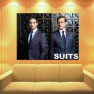 Suits Drama TV Series Patrick J Adams Mike Ross 47x35 Print Poster