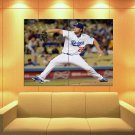 Clayton Kershaw Baseball Los Angeles Dodgers Sport 47x35 Print Poster