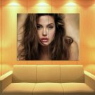 Angelina Jolie Painting Portrait Actress Art Huge Giant Print Poster