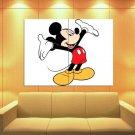 Mickey Mouse Walt Disney Cool Hd Art Best Huge Giant Print Poster