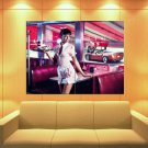 Girl American Waitress Pin Up Coca Cola Sexy Babe Huge Giant Print Poster