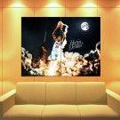 Kevin Durant Dunk Art Okc Thunder Basketball Huge Giant Print Poster