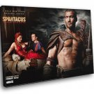 Spartacus Blood And Sand TV Series 30x20 Framed Canvas Print