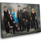 Criminal Minds Cast Characters TV Series 30x20 Framed Canvas Print