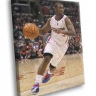Chris Paul Dribbling Los Angeles Clippers Sport 30x20 Framed Canvas Print