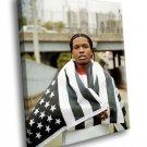 ASAP Rocky Rapper ASAP Mob Music 30x20 Framed Canvas Art Print