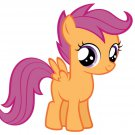 Scootaloo My Little Pony Friendship Is Magic Cute 32x24 Wall Print POSTER