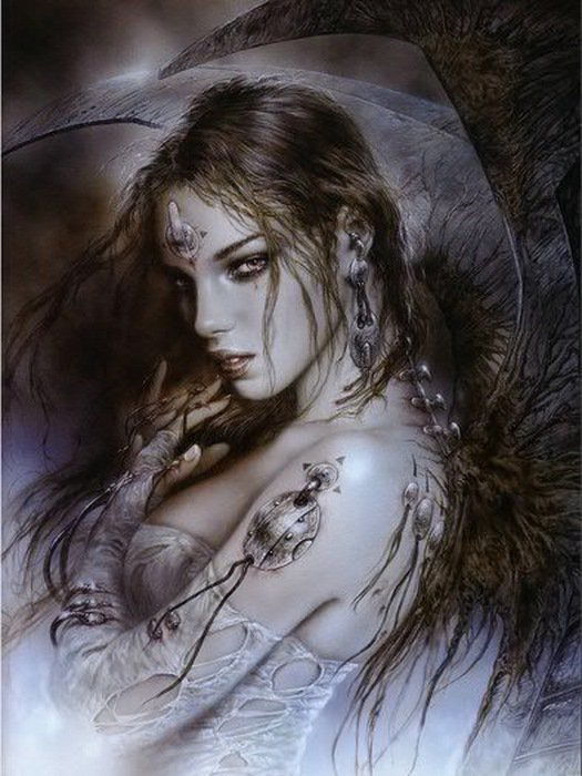 Agree, luis royo fallen angel are not