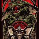 Gremlins Movie 1984 Gizmo Cool Art Artwork 32x24 Print Poster