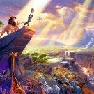The Lion King Beautiful Disney Painting Art 24x18 Wall Print POSTER