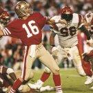 Joe Montana San Francisco 49ers Classic Football 24x18 Print Poster