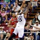 DeMarcus Cousins Sacramento Kings Layup Basketball 16x12 Print POSTER