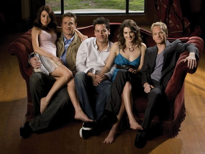 How I Met Your Mother TV Series Cast 16x12 Wall Print Poster